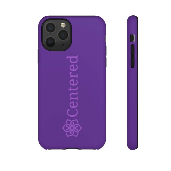 Blue Centered Tough Phone Cases iphone 11