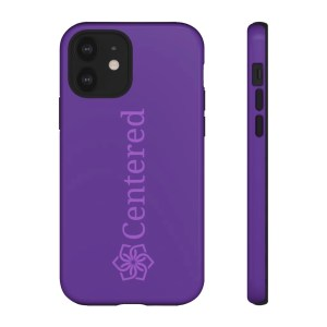Centered Tough Phone Cases iPhone 12