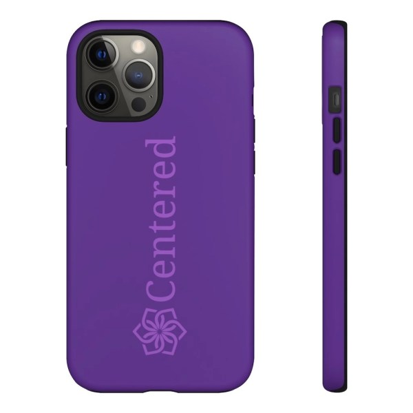 Centered Tough Phone Cases iPhone 12 Pro Max