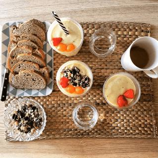photo d'un petit déjeuné beautysané