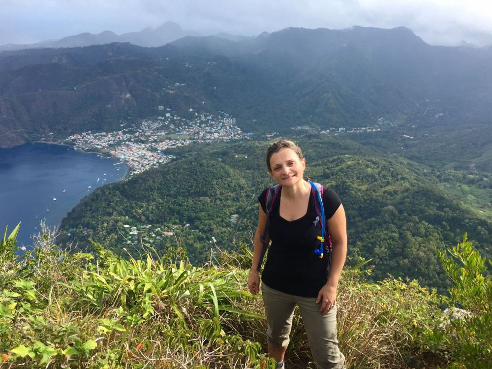 Me on Top of Petit Piton