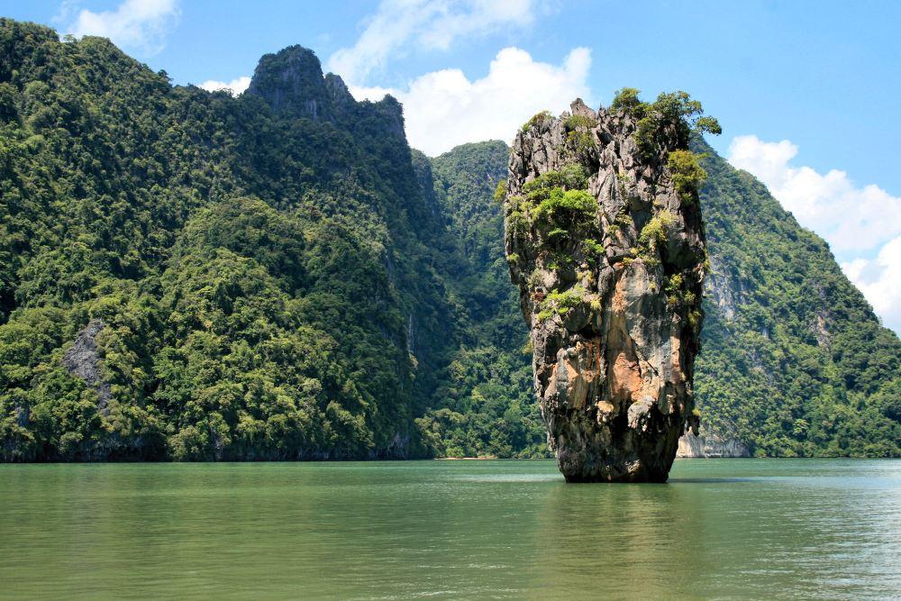 Ko Ta Pu Rock In Phang Nga Bay near Phuket, Thailand
