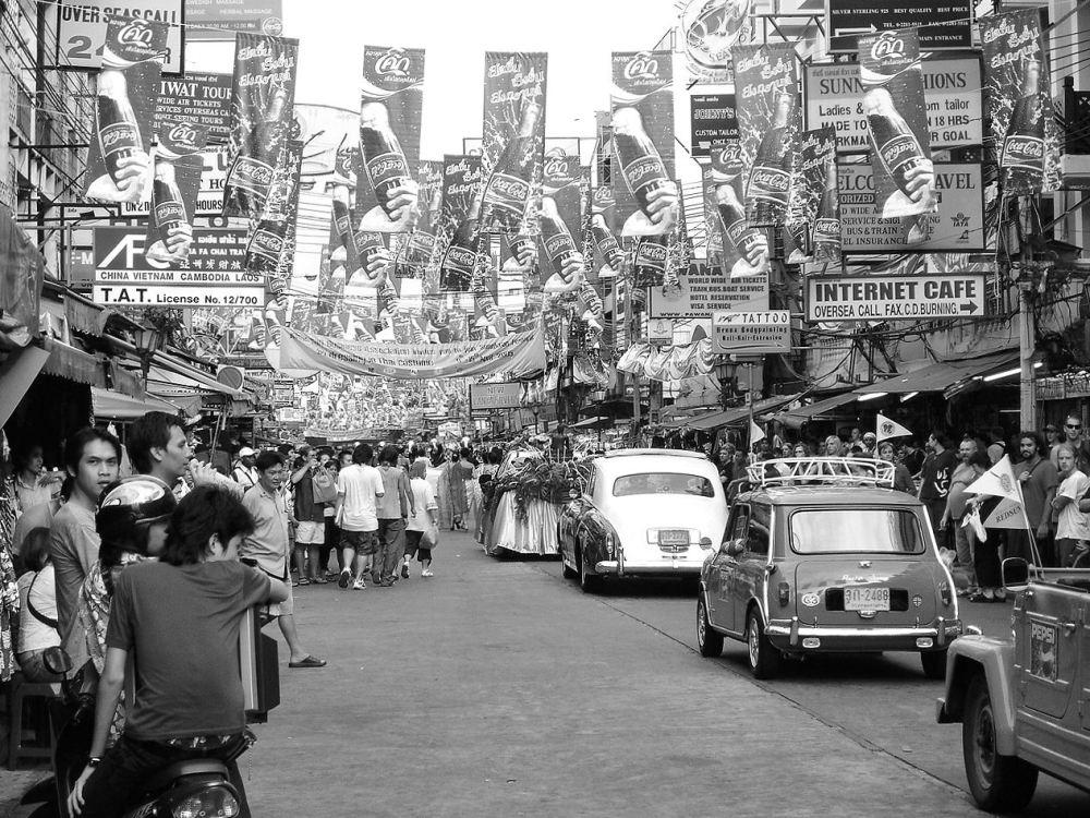 Festival on Khao San Road in Bangkok, Thailand