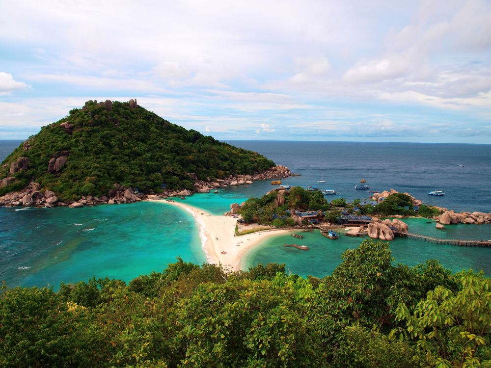Nangyuan Island near Koh Tao, Thailand