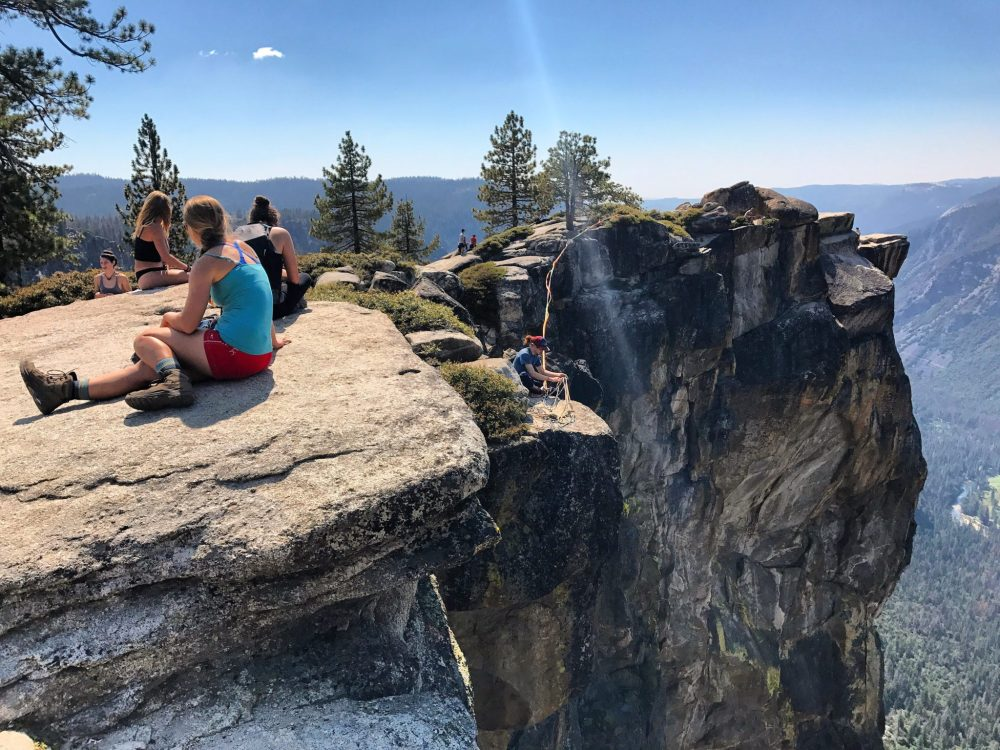 High liners at Taft Point
