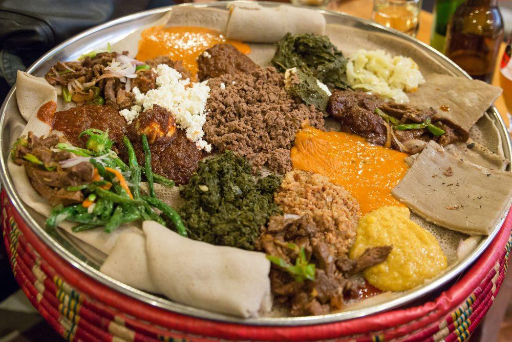 Traditional Ethiopian food