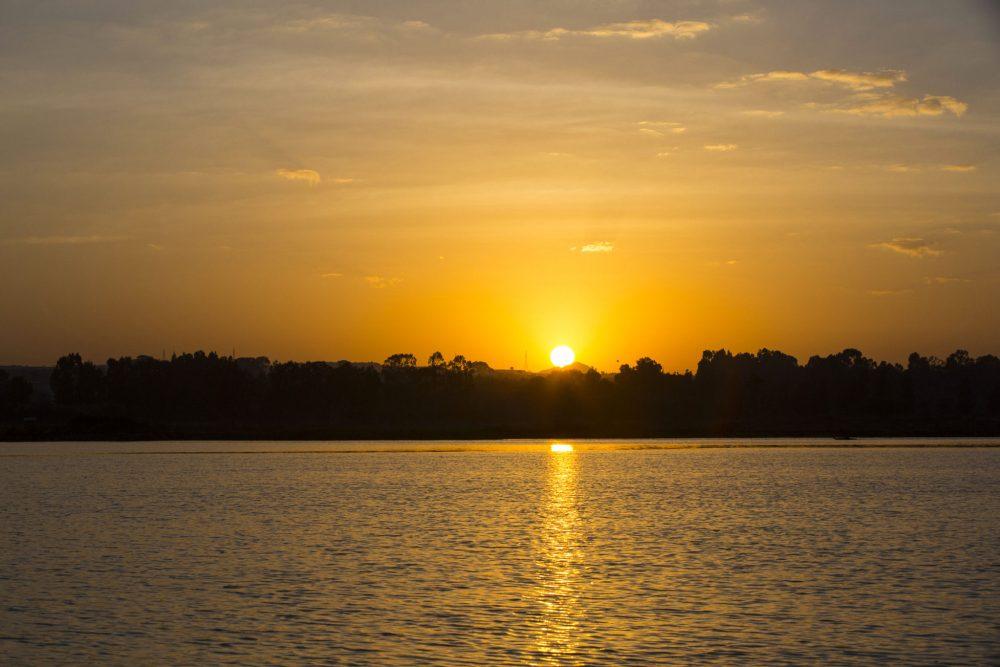 Lake Tana near Bahir Dar, Ethiopia