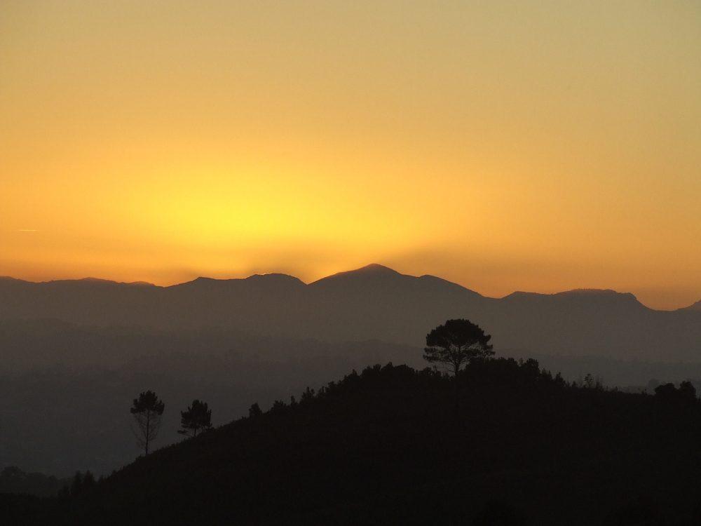 Knysna at sunset