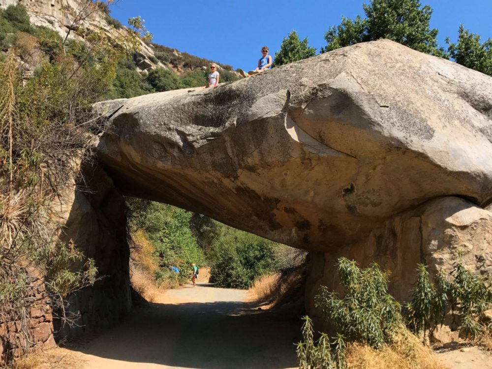Tunnel Rock in Sequoia National Park