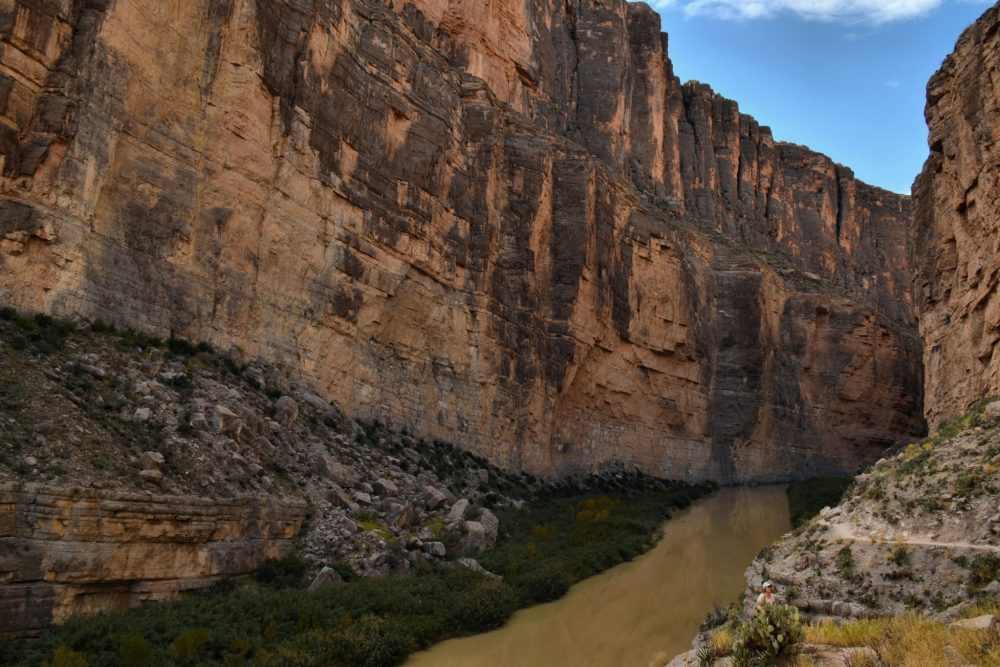 Inside Santa Elena Canyon