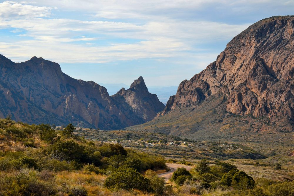 Chisos Basin in Big Bend National Park