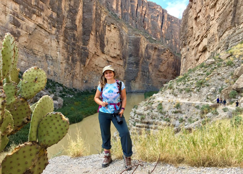 View from Santa Elena Canyon Trail