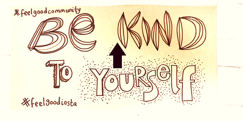 Be Kind To Yourself Doodle