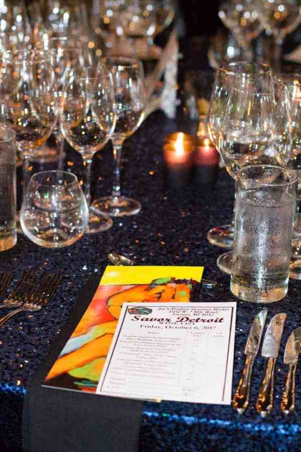 The Hour Detroit Magazine Savor Detroit Event Fall 2017 was a night full of a delicious unique courses prepared by chefs from the finest Detroit restaurants
