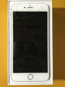 iPhone6plus ガラス破損 画像