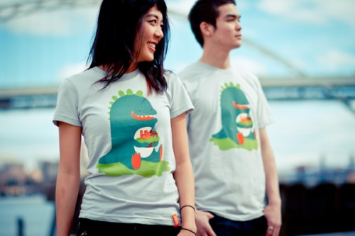 TanQ tshirts supporting relief work in Japan