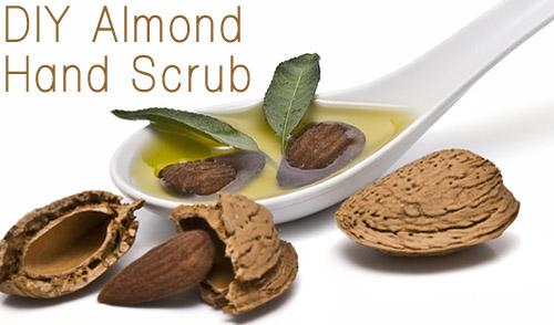 DIY Valentine's Day Beauty Gifts: Almond Hand Scrub