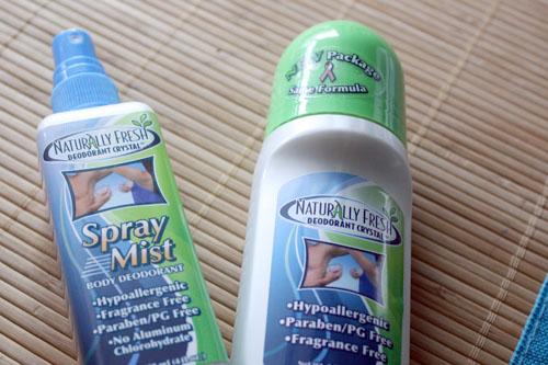 deodorant test