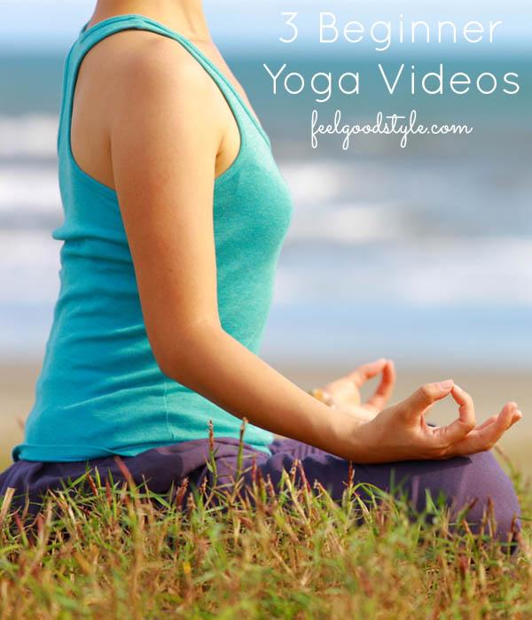 3 Yoga for Beginners Videos
