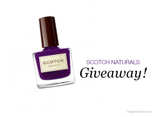 Scotch Naturals nail polish giveaway