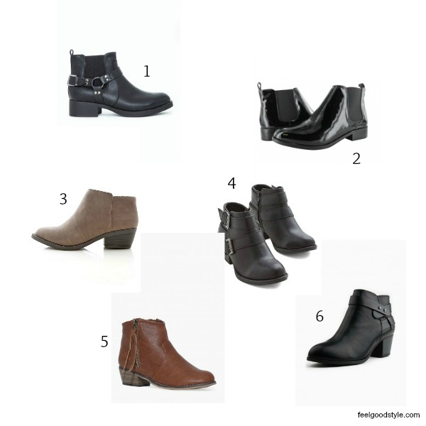 Vegan Ankle Boots for Fall