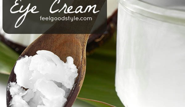 Make this DIY eye cream recipe. It uses only two ingredients!
