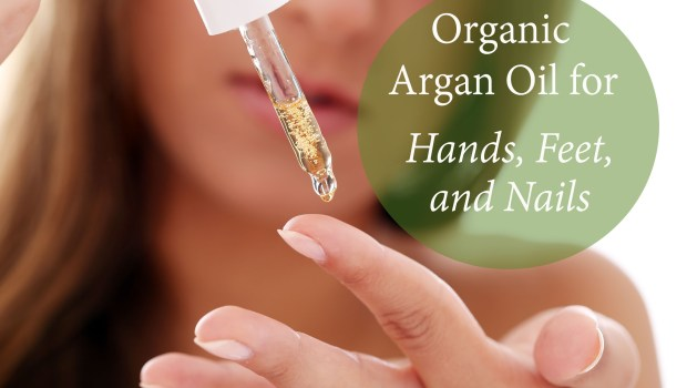 Try organic argan oil for great skin and healthy nails!