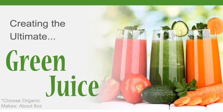 How to make green juice