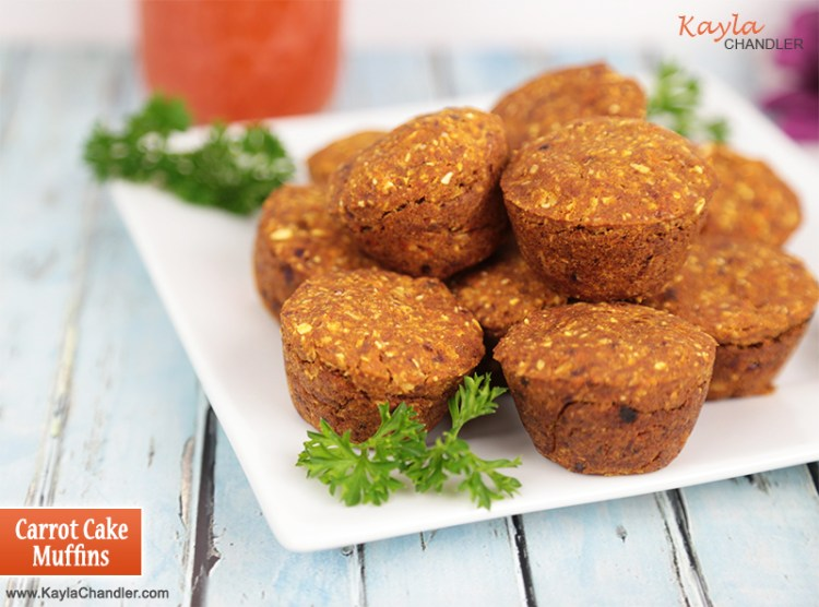 Carrot Muffins with Juice Pulp | Juice Pulp Recipes