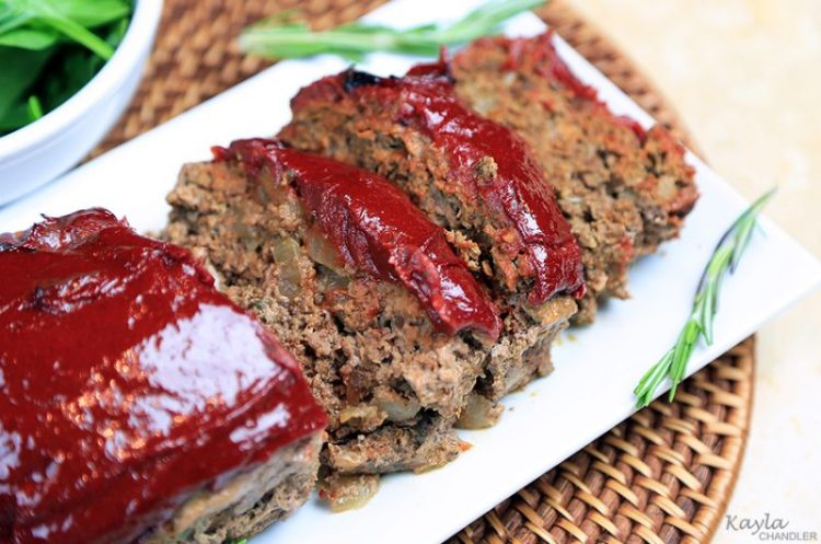 Delicious! Grain Free Meatloaf Recipe (Gluten Free & Paleo Friendly)