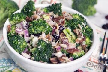 Healthy Broccoli Salad Recipe