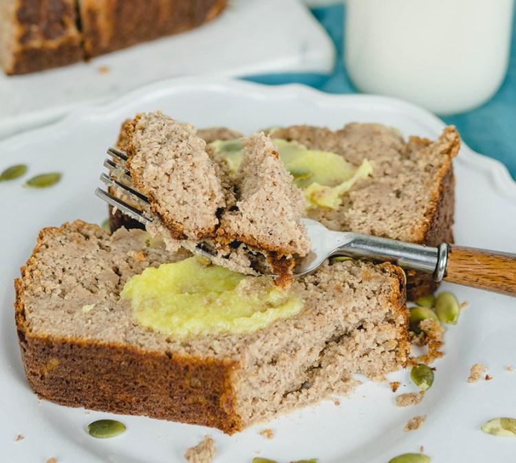 Gluten Free Paleo Banana Bread