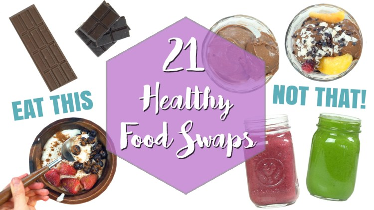 Healthy Food Swaps to save Calories