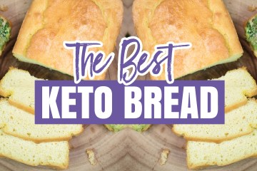 Low Carb Keto Bread Recipe (Dairy Free)
