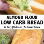 LOW CARB ALMOND FLOUR BREAD (KETO)