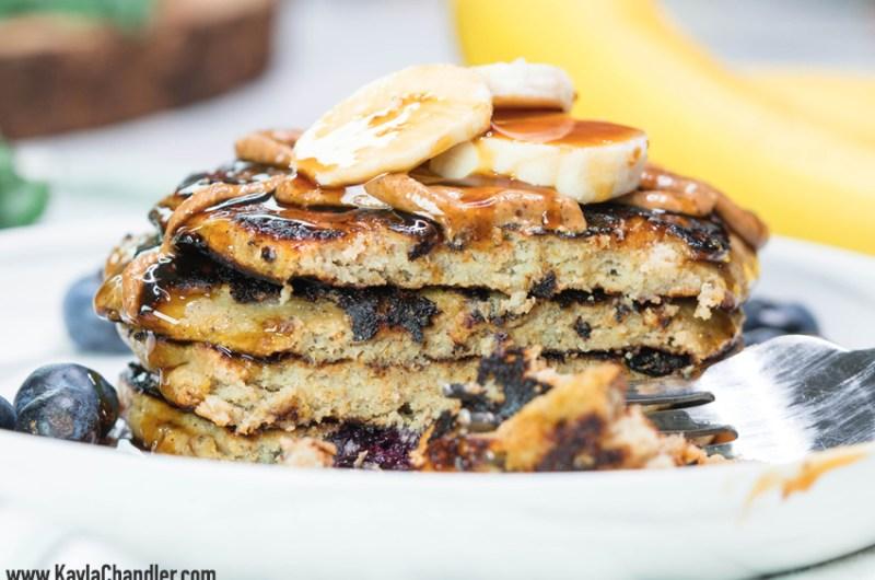 Paleo Banana Protein Pancakes