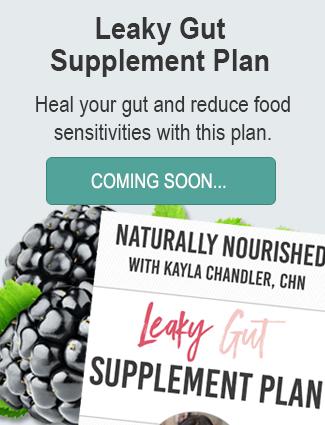 Leaky Gut Supplement Plan
