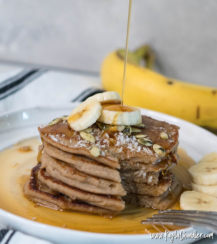 Banana Oatmeal Pancakes - Pantry Meals