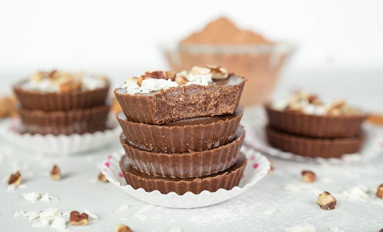 Sugar Free Dessert Chocolate Cups