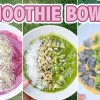 SUMMER SMOOTHIE BOWL RECIPES | Vegan, Gluten Free, & Paleo