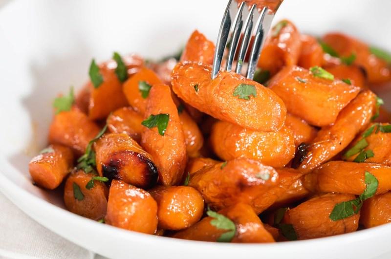 Honey Butter Glazed Carrots | Healthy Side Dish
