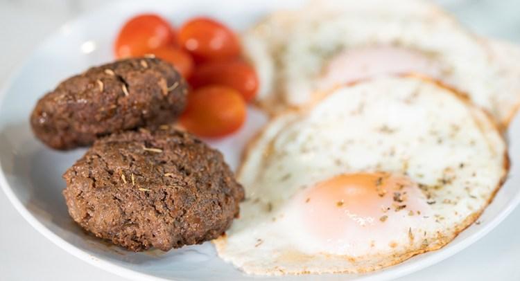 BEEF BREAKFAST SAUSAGE   Pork-Free Sausage Patties