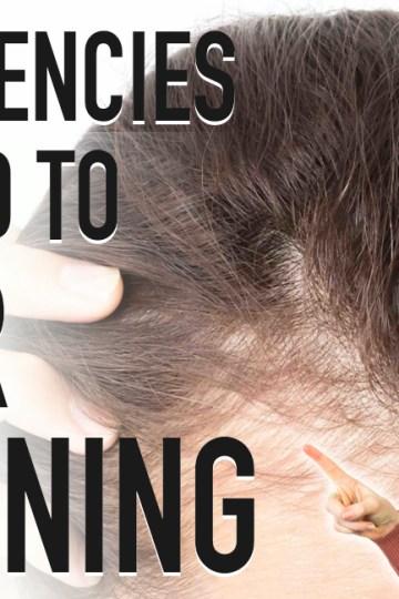 HAIR THINNING   5 Deficiencies Linked to Hair Loss