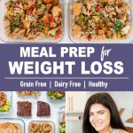 5-Day Weight Loss Meal Prep Menu | Healthy, Grain Free, Dairy Free