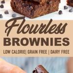 HEALTHY BROWNIES (Low Calorie & Flourless!)