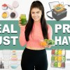 MEAL PREP ESSENTIALS to Make Meal Prepping Faster!