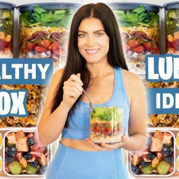 5 MAKE-AHEAD HEALTHY LUNCH BOX IDEAS for School or Work (gluten free!)