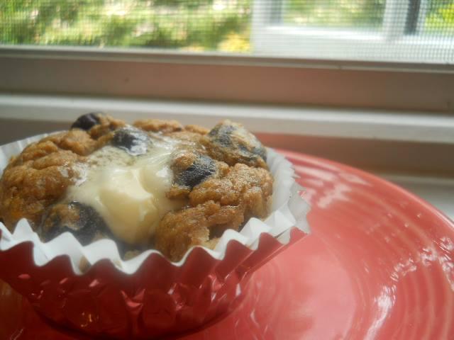 Banana Blue Muffins