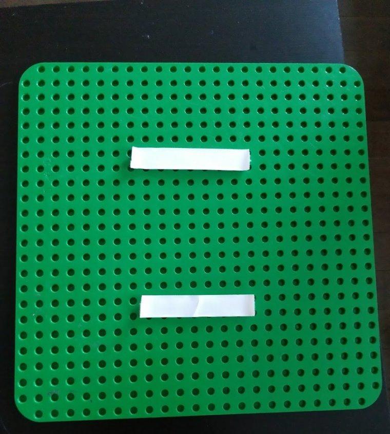 velcro lego baseplates