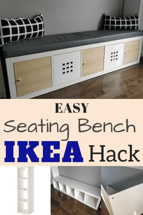 Ikea Kallax Hack Turn Bookshelf Into A Seating Bench With